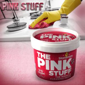 المعجون الوردي للتنظيف والتلميع