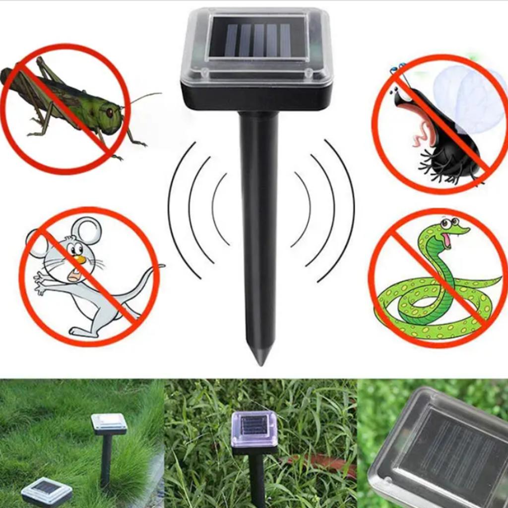 جهاز الطاقة الشمسية لطرد العقارب والثعابين والفئرات والافات والحشرات